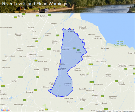 holbeach fleet gedney and surrounding areas flood alerts and warnings the uk river levels website